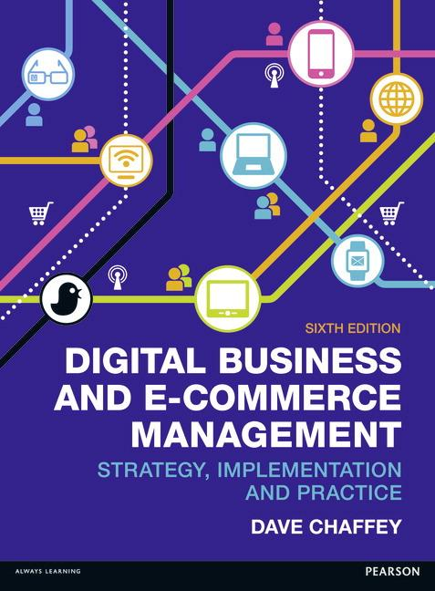 Digital Business and E-commerce Management book cover