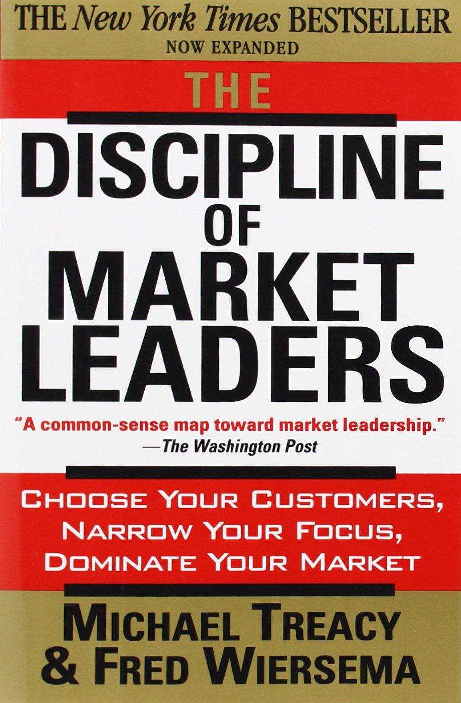 The Discipline of Market Leaders front cover