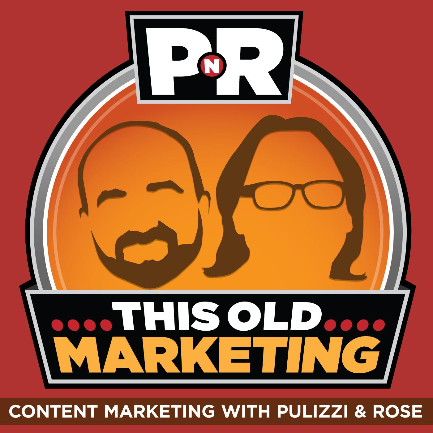 This Old Marketing podcast logo