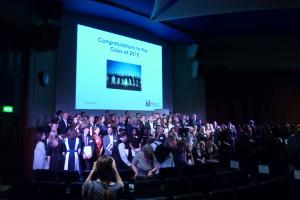 IDM graduation ceremony 2015